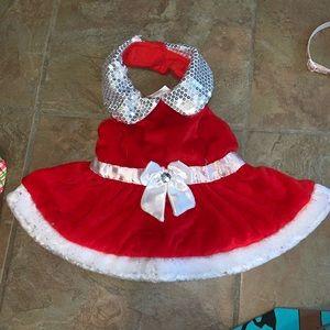 Dog Christmas dress